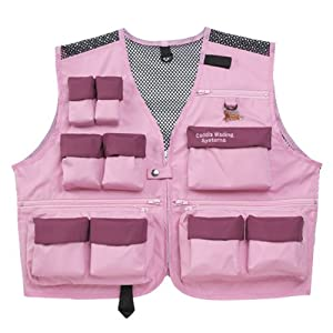 Caddis waders women 39 s deluxe ultra lite vest for Womens fishing vest