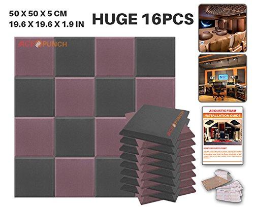 ace-punch-16-paquet-2-combinaison-de-couleurs-plat-biseau-tuile-insonorisation-sonorisation-absorbeu