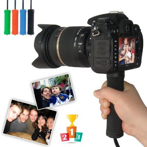 First2Savvv Zp-B-01 Black Self-Portrait Telescopic Handheld Pole Arm Monopod Camcorder/Camera/Mobile Phone Tripod Mount Adapter Bundle For Nikon Coolpix L830