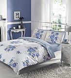 Just Contempo Parure de lit vintage esprit campagne avec housse de couette en coton m