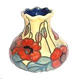 Old Tupton Ware Vase ~ Yellow Poppy Design ~ Boxed Gift (TW1676)