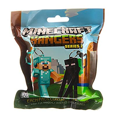 Minecraft Action Figure Hangers Series 2 Single Blind Pack (Styles and Colors Vary) from MOJANG