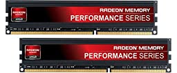 AMD Radeon Memory Performance Series 16GB 240-Pin DDR3 1866 (PC3 14900) CL9 1.5V Unbuffered Internal Memory Module AP316G1869U2K