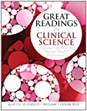 img - for Great Readings in Clinical Science: Essential Selections for Mental Health Professionals book / textbook / text book