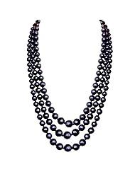 Jpearls Meghan Black Pearl Set