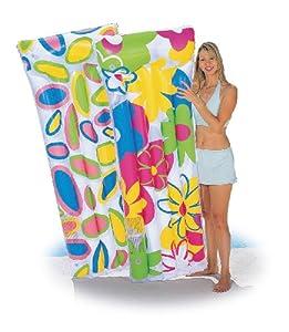 Bestway - A1100135 - Jeu de Plein Air - Matelas gonflable décor fleuri - 183 x 76cm