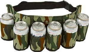 EZ Drinker Redneck Beer & Soda Can Holster Belt(Camouflage) from Ez Drinker