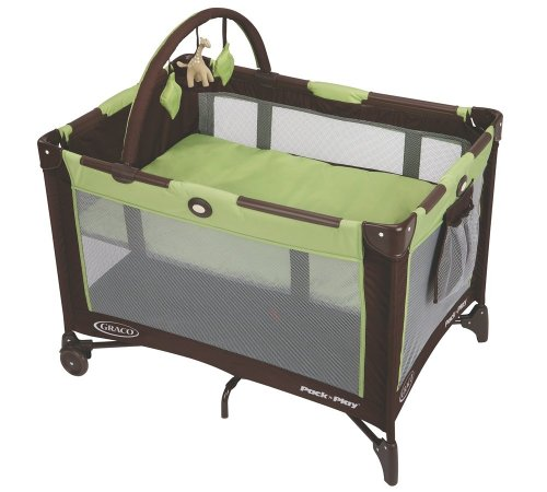 Graco Pack 'n Play On the Go Travel Playard, Go Green