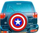 Captain America 4x 4Ersatzrad-Abdeckung (Aufkleber 560mm 55,9cm