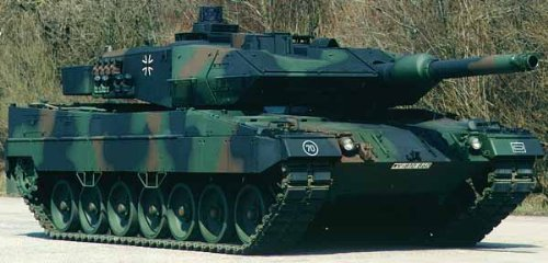 German Leopard II A5 Main Battle Tank RC Airsoft Radio Control 1/24 MBT Marui OEM Version