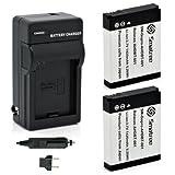 Smatree Batteries Charger Kit for Gopro Hero Hd Hero2 Digital Camera AHDBT-002 AHDBT-001