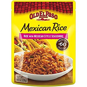 Amazon.com : Old El Paso Mexican Rice, 8-Ounce Packages (Pack of 8