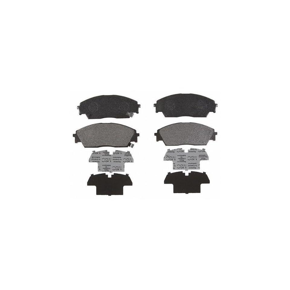 ACDelco 17D373M Professional Semi Metallic Front Disc Brake Pad Set