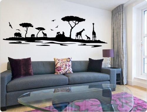 i-love-wandtattoo-sticker-mural-11445-sticker-mural-savane-africaine-violet-200-cm-x-55-cm