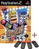 echange, troc BUZZ LE QUIZZ POP + BUZZERS PS2
