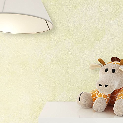 kindertapete uni gr n passend zu den niedlichen tieren s e tapete f r babyzimmer oder. Black Bedroom Furniture Sets. Home Design Ideas