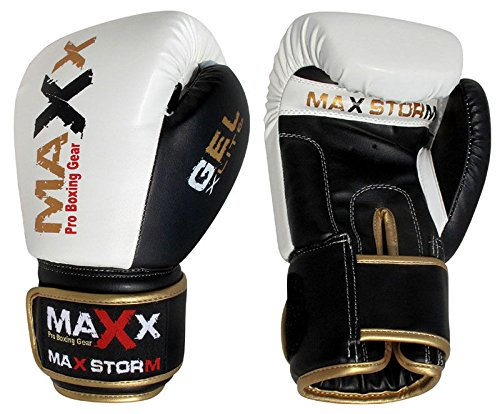 NEW-Leather-Stylish-Boxing-Gloves-Fight-Punch-Bag-Sports-Muay-Thai-Grappling-Pad-Gloves-4oz-14oz-8oz-6oz-16oz