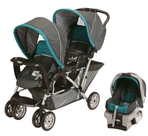 Graco DuoGlider Folding Double Baby Stroller