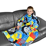 Thomas The Tank Engine Power Boys Kids Wrap Snuggle Sleeved Fleece Blanket