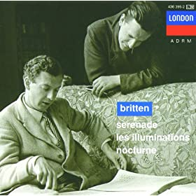Britten: Nocturne for tenor, 7 obligato instruments & strings, Op.60 - 6. She sleeps on soft, last breaths