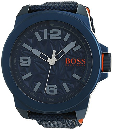 Boss Orange Men's Watch Analogue Quartz New York Textile 1513353