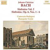 J. C. Bach: Sinfonias Vol. 2 / Sinfonias, Op. 6, Nos. 1-6