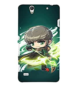 EPICCASE Warrior With Bow N Arrow Mobile Back Case Cover For Sony Xperia C4 (Designer Case)