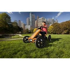 BERG Toys 24.40.00 Rally Pedal Go Kart in orange, by BERG Toys