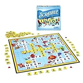 Scrabble Jr. board game!