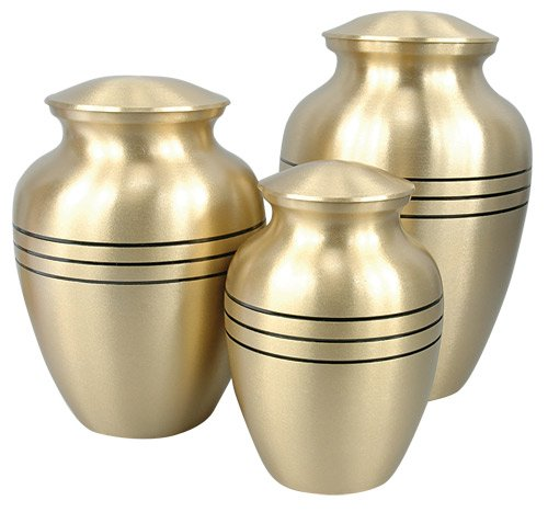 Classic Bronze Cremation Urns for Pets - Medium