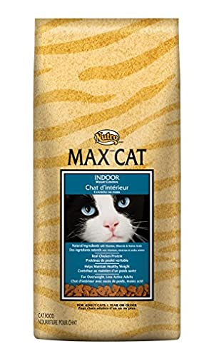 NUTRO MAX CAT Indoor Adult Weight Control Real Chicken Protein Dry Cat