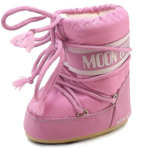 Moon Boot by Tecnica Mini Nylon 14004300-063 Kinder Winterstiefel, pink, Gr. 19-22 EU / 3-5.5 UK C