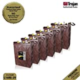 6x Trojan L16RE-2V Renewable Energy 2V Deep Cycle Battery 1110Ah