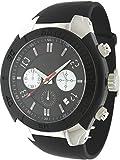 【英国ブランド上陸】 KEITH VALLER キースバリー クロノグラフ メンズ腕時計 K09 選べる5色 (ブラック K0922-BK)