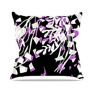 "Amazon.com - Kess InHouse Gabriela Fuente ""Night"" Black Pink Throw"