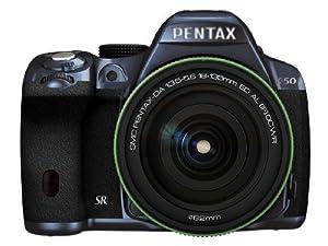 Pentax K-50 16MP Digital SLR 18-135mm Lens Kit METAL NAVY/BLACK 100