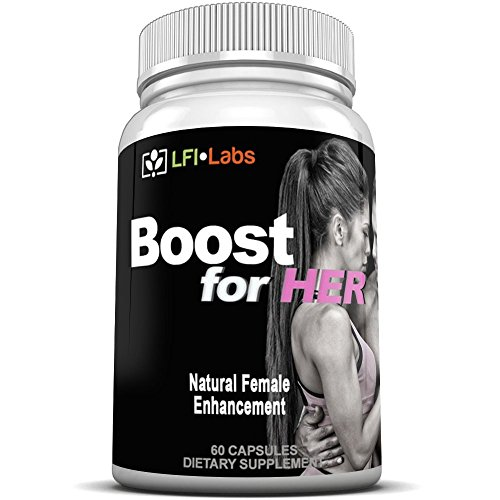 LFI Boost For Her - Improve Bust/Butt Size Through Fat Transfer, Improved Libido. Your Complete Female Enhancement Solution* -