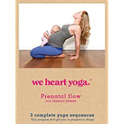 We Heart Yoga Prenatal Flow with Jessica James