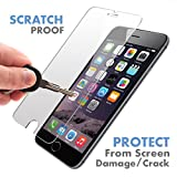 iPhone 6S / 6 ★ PREMIUM QUALITY ★ Tempered Glass Screen Protector by Voxkin® - Top Quality Invisible Protective Glass for iPhone 6 - Scratch Free, Perfect Fit & Anti Fingerprint - Crystal Clear HD Display