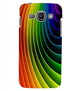 ColourCraft Colourful Pattern Design Back Case Cover for SAMSUNG GALAXY ACE 3 S7272 DUOS