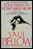 Something to Remember Me By (0670842168) by Bellow, Saul