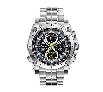Bulova Men's Stainless Steel Precisionist Chronograph Watch