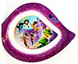 Walt Disney Fairies Tinker Bell And Other Fairies Meal Time Magic 9inch Tear Drop Dinner Plate