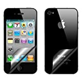 Supergets Screen And Back Protector for Apple Iphone 4
