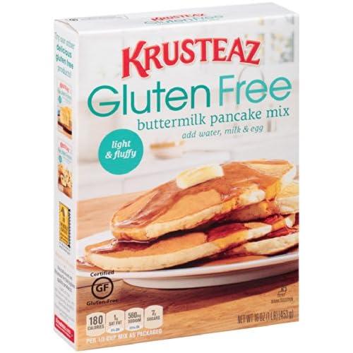 Compare Krusteaz Gluten Free Buttermilk Pancake Mix 16 Ounce ...