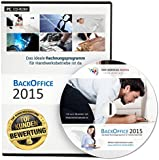 BackOffice 2015 Professional (Lizenzdauer: 1 Jahr) - Rechnungsprogramm für Handwerker, Maler & Lackierer, Fliesenleger, Bodenleger, Dachdecker, etc.