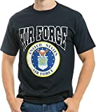 RapDom Air Force American Made Adult Tee [2XL - Navy Blue]