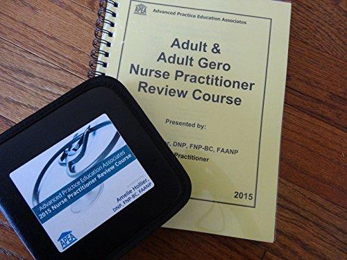 2015 Amelie Hollier APEA ADULT & ADULT GERONTOLOGY Nurse Practitioner review BOOK & 19 CDs PDF