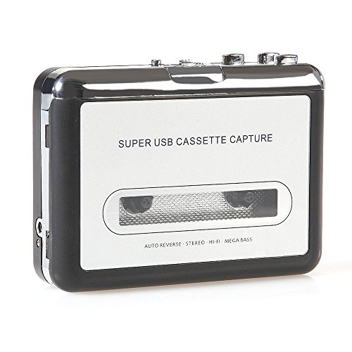Handy USB Cassette Player and Tape-to-MP3 Digital Converter (Mastering Software compare prices)