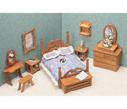Greenleaf Dollhouse Furniture Kit for Bedroom